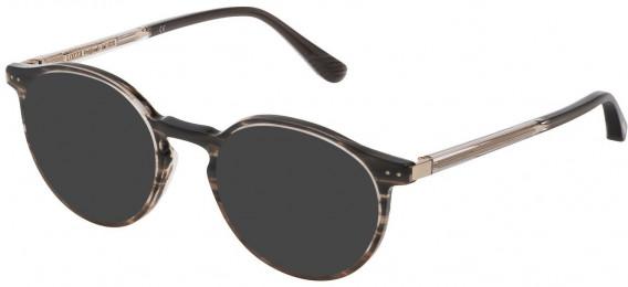 Lozza VL4211 sunglasses in Yellow Striped Yellow Havana