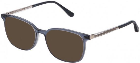 Lozza VL4210 sunglasses in Blue/Black