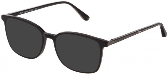Lozza VL4210 sunglasses in Shiny Black