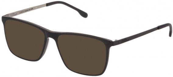 Lozza VL4199 sunglasses in Super Black Mat