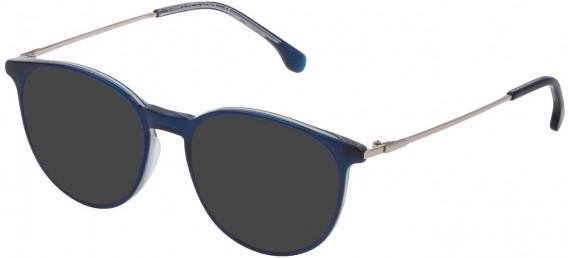 Lozza VL4197 sunglasses in Shiny Blue Top/Grey