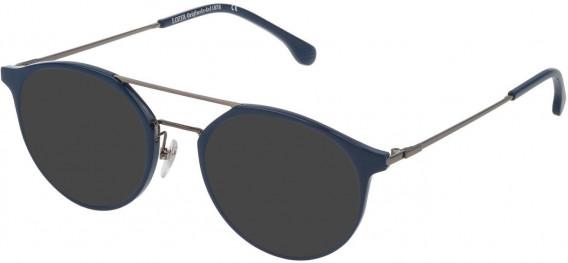 Lozza VL4181 sunglasses in Shiny Blue