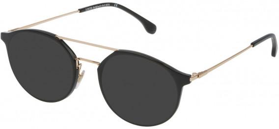 Lozza VL4181 sunglasses in Shiny Black