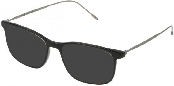 Lozza VL4172 sunglasses in Shiny Cry/Shiny Black