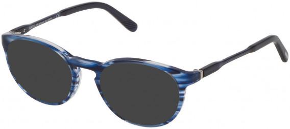Lozza VL4169 sunglasses in Shiny Striped Blue