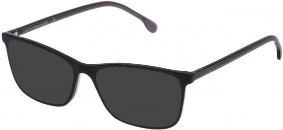 Lozza VL4166 sunglasses in Shiny Black