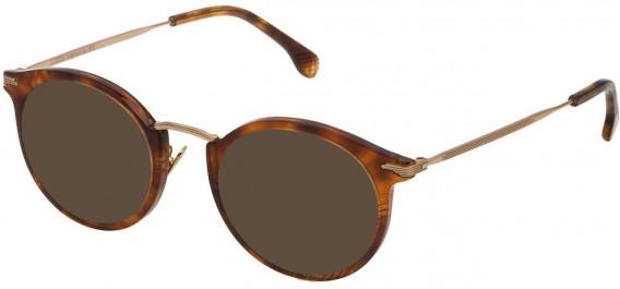 Lozza VL4157N sunglasses in Shiny Havana Feather Honey