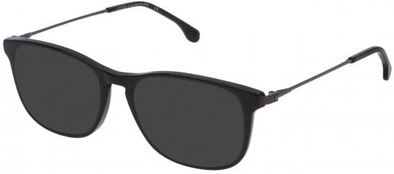 Lozza VL4147 sunglasses in Black Super Black