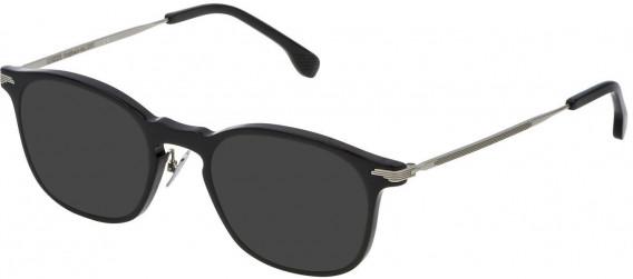 Lozza VL4143 sunglasses in Black Super Black