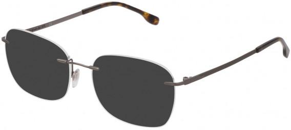 Lozza VL2349 sunglasses in Shiny Gun