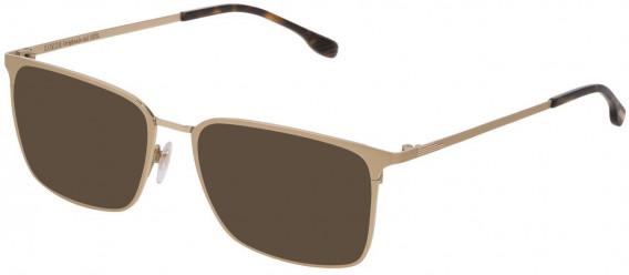 Lozza VL2342 sunglasses in Shiny Grey Gold/Sandblasted