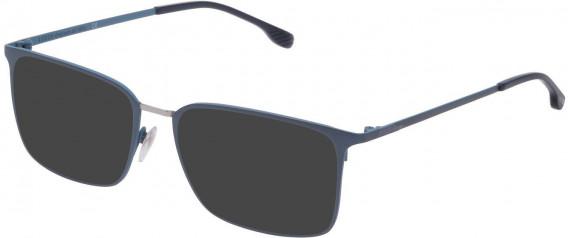 Lozza VL2342 sunglasses in Shiny Azure/Blue