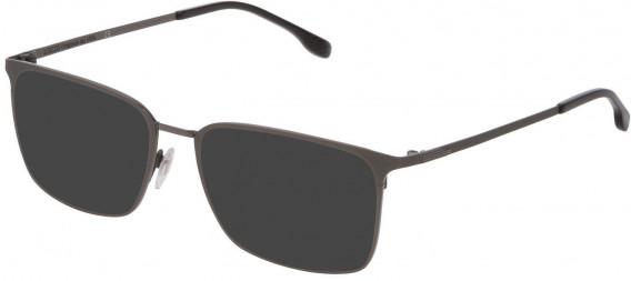 Lozza VL2342 sunglasses in Shiny Gun/Sandblasted
