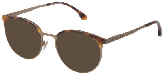 Lozza VL2340 sunglasses in Semi Matt Grey Gold/Shiny