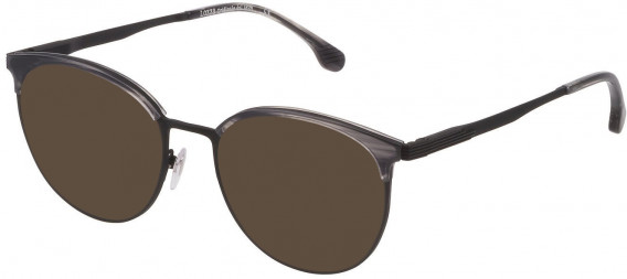 Lozza VL2340 sunglasses in Matt Black/Shiny Black