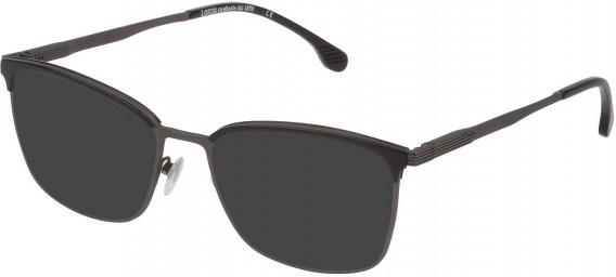 Lozza VL2339 sunglasses in Matt Gun/Shiny Gun