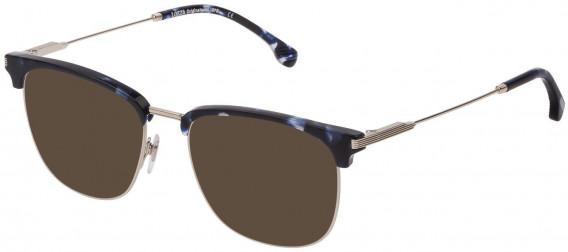 Lozza VL2333 sunglasses in Shiny Full Palladium