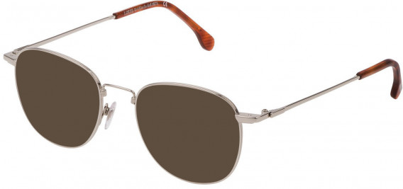 Lozza VL2331 sunglasses in Shiny Full Palladium