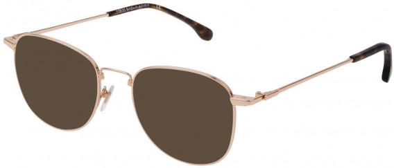 Lozza VL2331 sunglasses in Shiny Rose Gold