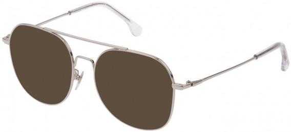 Lozza VL2330V sunglasses in Shiny Full Palladium