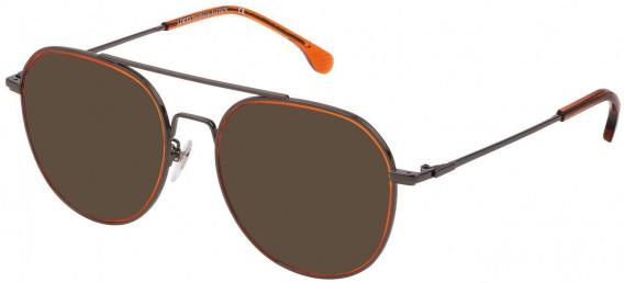 Lozza VL2330 sunglasses in Shiny Gun