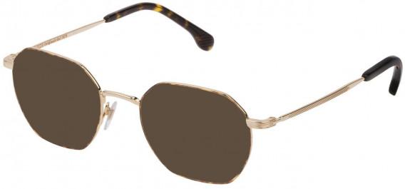 Lozza VL2329 sunglasses in Shiny Rose Gold/Havana