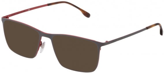 Lozza VL2324 sunglasses in Full Red/Coloured