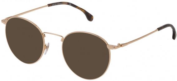 Lozza VL2322 sunglasses in Shiny Rose Gold