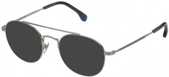 Lozza VL2308 sunglasses in Shiny Palladium
