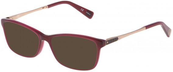 Furla VU4950N sunglasses in Shiny Opal Bordeaux