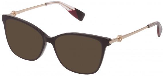 Furla VFU356 sunglasses in Shiny Dark Plum