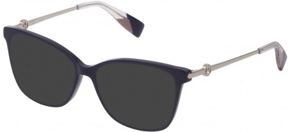 Furla VFU356 sunglasses in Shiny Dark Blue