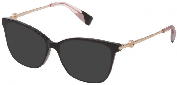 Furla VFU356 sunglasses in Shiny Black