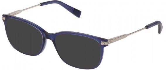 Furla VFU354 sunglasses in Transparent Blue