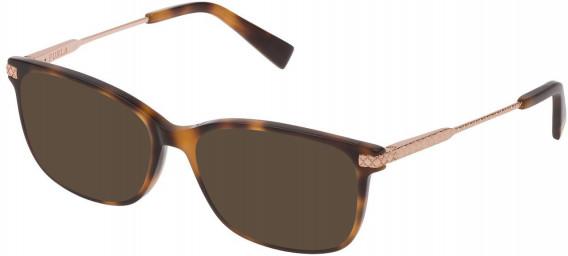 Furla VFU354 sunglasses in Shiny Dark Havana