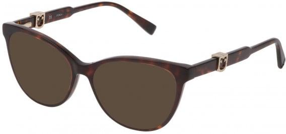 Furla VFU353 sunglasses in Shiny Red Havana