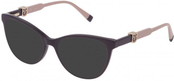 Furla VFU353 sunglasses in Shiny Full Plum