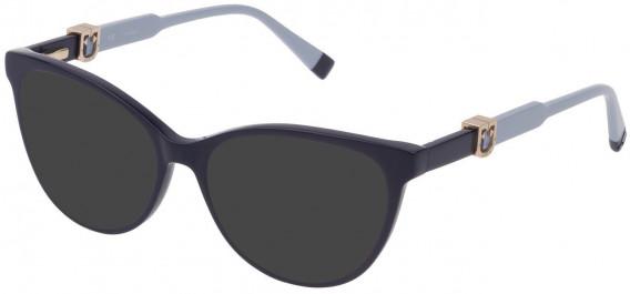 Furla VFU353 sunglasses in Shiny Dark Blue