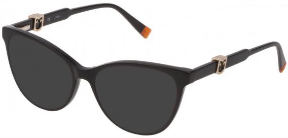 Furla VFU353 sunglasses in Shiny Black