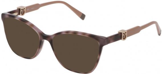 Furla VFU352 sunglasses in Shiny Grey Havana
