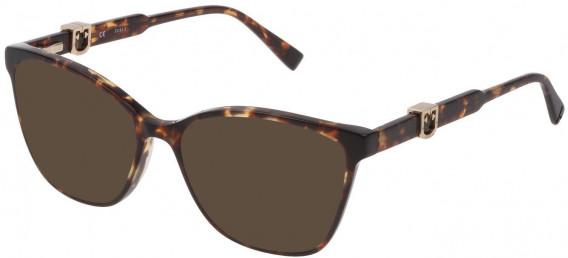 Furla VFU352 sunglasses in Shiny Classic Havana