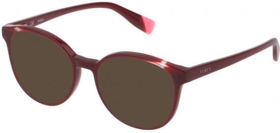 Furla VFU351 sunglasses in Full Bordeaux