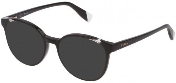 Furla VFU351 sunglasses in Shiny Black
