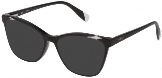 Furla VFU350 sunglasses in Shiny Black