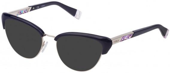 Furla VFU305 sunglasses in Full Blue