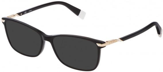 Furla VFU300 sunglasses in Shiny Black