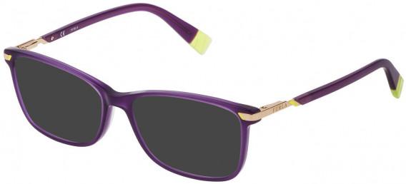 Furla VFU300 sunglasses in Shiny Opal Violet