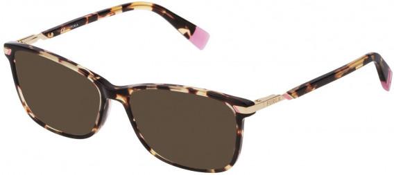 Furla VFU300 sunglasses in Shiny Classic Havana