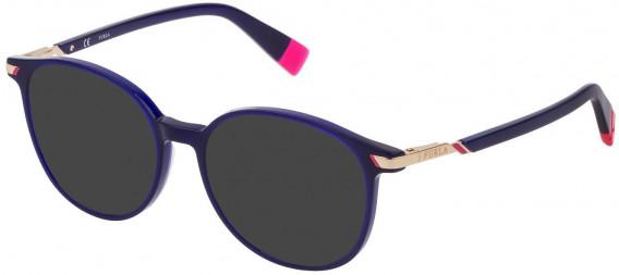 Furla VFU299 sunglasses in Shiny Opal Blue