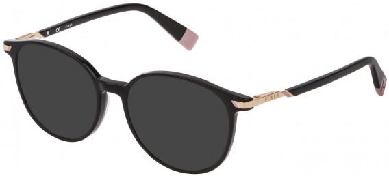 Furla VFU299 sunglasses in Shiny Black